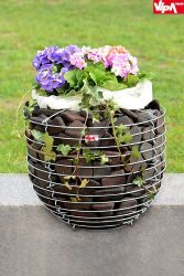 Gabion Virágtartó Cup 40 cm