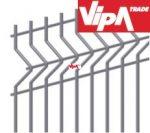 Hegesztett sík mező, Táblás kerítés ( rács , hegesztés előtt horganyzott ) 5x20, 4/4 Méret: 250,5 cm hosszú