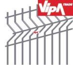 Hegesztett sík mező, Táblás kerítés ( rács , hegesztés után horganyzott mező ) 5x20, 4/4 Méret: 250,5 cm hosszú