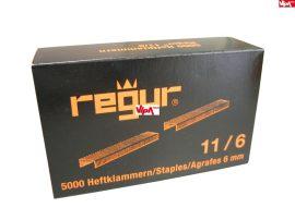 Tűzőkapocs REGUR® 11 Laposhuzal kapocs 11/6mm 5.000 db/doboz
