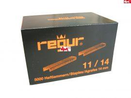 Tűzőkapocs REGUR® 11 Laposhuzal kapocs 11/14mm 5.000 db/doboz