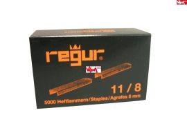 Tűzőkapocs REGUR® 11 Laposhuzal kapocs ALU 11/8mm 5.000 db/doboz