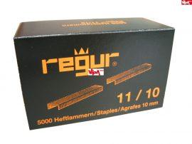 Tűzőkapocs REGUR® 11 Laposhuzal kapocs ALU 11/10mm 5.000 db/doboz