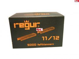 Tűzőkapocs REGUR® 11 Laposhuzal kapocs V2A - rozsdamentes 11/12mm 1.000 db/doboz