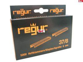 Tűzőkapocs REGUR® 37 Finomhuzal tűzőkapocs 37/8mm 5.000 db/doboz