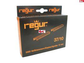Tűzőkapocs REGUR® 37 Finomhuzal tűzőkapocs 37/10mm 5.000 db/doboz