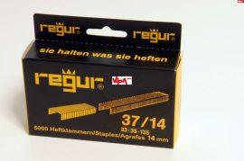 Tűzőkapocs REGUR® 37 Finomhuzal tűzőkapocs 37/14mm 5.000 db/doboz