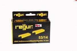 Tűzőkapocs REGUR® 53 Finomhuzal tűzőkapocs 53/14mm 5.000 db/doboz
