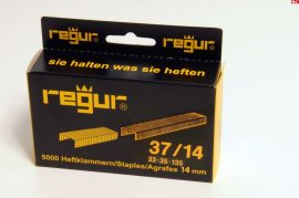 Tűzőkapocs REGUR® 37 Finomhuzal tűzőkapocs V2A - rozsdamentes 37/14mm 5.000 db/doboz