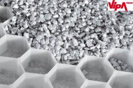 Kavícsrács stabilizáló lemez zúzottkőhöz és kavicshoz, fehér  H 160 x Sz 120 x M 3 cm (1,92m2/tábla)