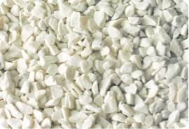 Márványzúzalék, carrarai fehér 6-9 mm 25kg kiszerelés