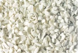 Márványzúzalék, carrarai fehér 9-12 mm 25kg kiszerelés