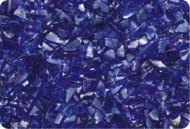 Üvegzúzalék, villámkék 4-8 mm 10kg kiszerelés