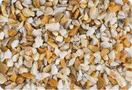 Márványzúzalék sienea sárga 9-12 mm 25kg kiszerelés