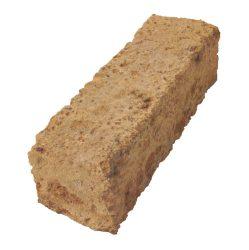 Tufablokk, barna Kb. 37 x 11 x 11 cm H X Mé X Ma