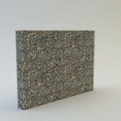 KOBOX 200 cm magas  kerítés komplett gabion fémszerkezet (kő nélkül)