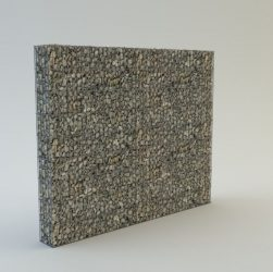 KOBOX 220 cm magas  kerítés komplett gabion fémszerkezet (kő nélkül)