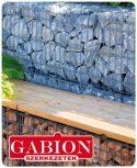 Gabion kerítés és egyéb gabion szerkezet
