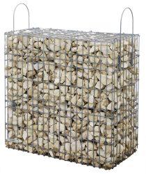 Kész gabion gyárilag feltöltve és tömöritve márványtörmelékből, Chateau-bézs