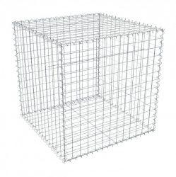 Gabion doboz szett 7,5 x 7,5cm-es osztású, 1m magas, 1m széles,  hegesztett hálós komplett box