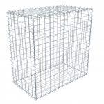 Gabion doboz szett 7,5 x 7,5cm-es osztású, 1m magas, 0,5m széles,  hegesztett hálós komplett box