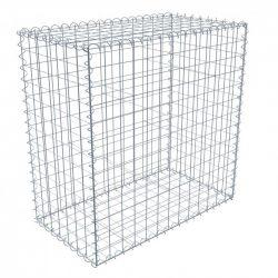Gabion doboz szett 7,5 x 7,5cm-es osztású, 0,5m magas, 0,5m széles, 1m hosszú hegesztett hálós komplett box
