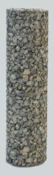 Köroszlop (átmérő 50cm), 150cm magas merevítő oszloppal.